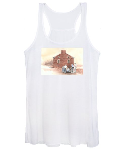 High Noon Shootout At The Tidal School  Women's Tank Top