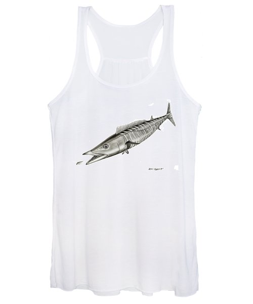High Speed Wahoo Women's Tank Top