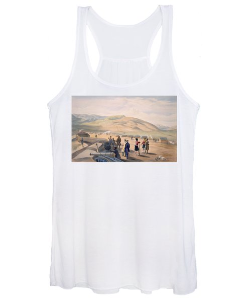 Highland Brigade Camp, Plate From The Women's Tank Top