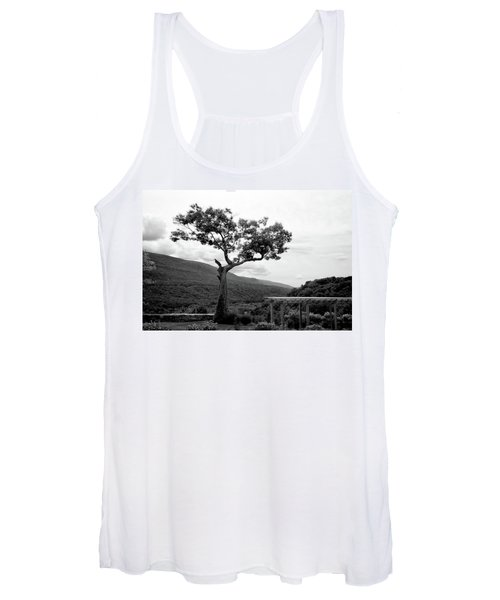 Hildene Tree 5689 Women's Tank Top