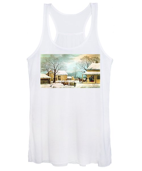 Home To Thanksgiving Women's Tank Top