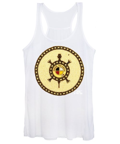 Honor The Circle Women's Tank Top