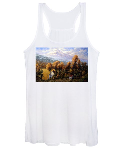 Hood At Late Afternoon Women's Tank Top