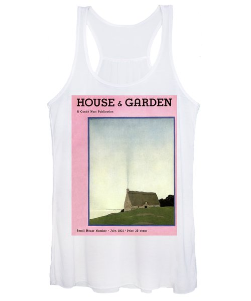House And Garden Small House Number Cover Women's Tank Top