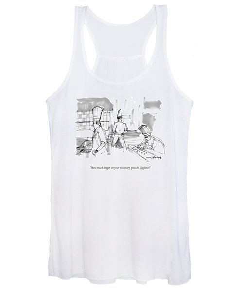 How Much Longer On Your Visionary Gnocchi Women's Tank Top