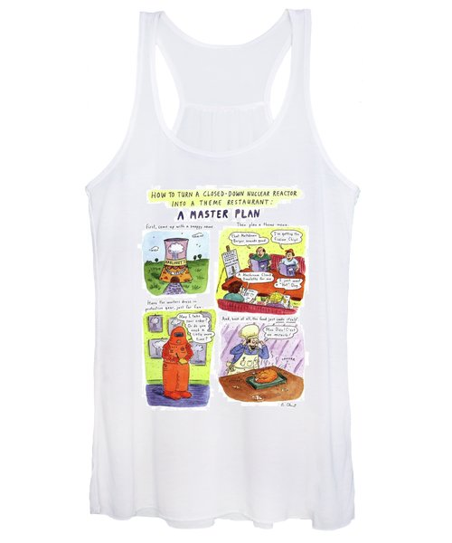 How To Turn A Closed-down Nuclear Reactor Women's Tank Top