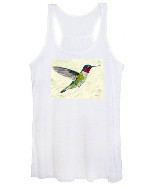 Da103 Broadtail Hummingbird Daniel Adams Women's Tank Top