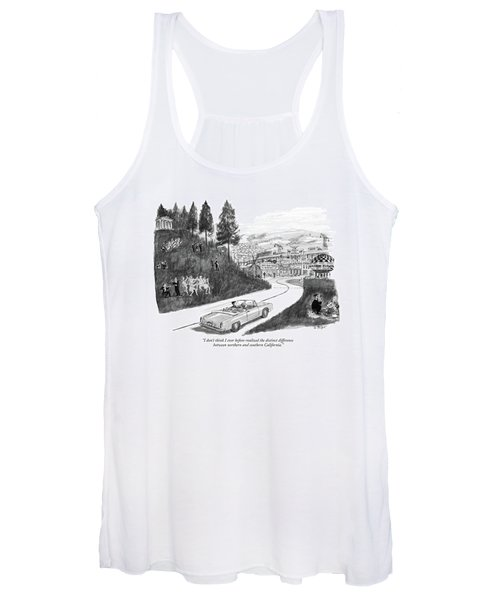 I Don't Think I Ever Before-realized The Distinct Women's Tank Top