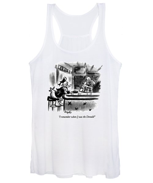 I Remember When I Was The Donald! Women's Tank Top