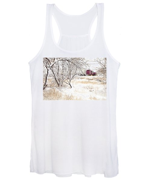 I'll Be Home For Christmas Women's Tank Top
