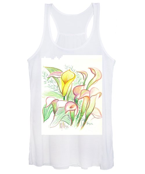 In The Golden Afternoon Women's Tank Top