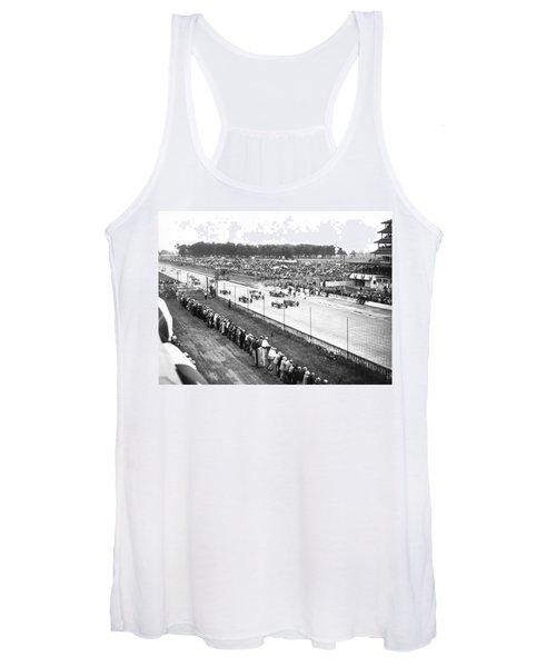 Indy 500 Auto Race Women's Tank Top