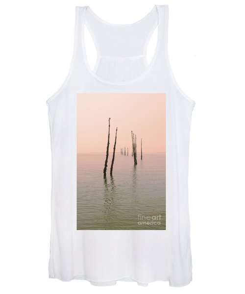 Into The Pink Sunset... Women's Tank Top
