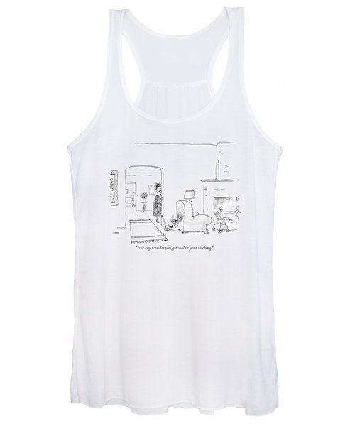 Is It Any Wonder You Got Coal In Your Stocking? Women's Tank Top