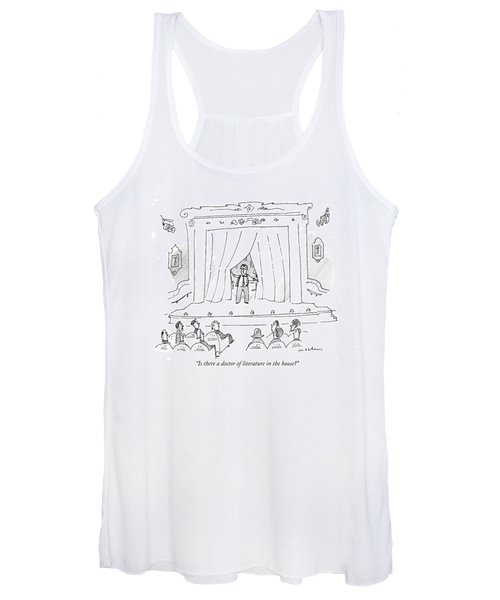 Is There A Doctor Of Literature In The House? Women's Tank Top