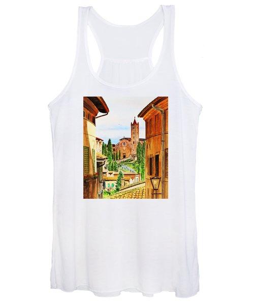 Italy Siena Women's Tank Top