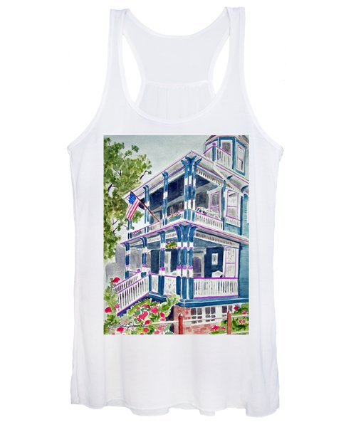 Jackson Street Inn Of Cape May Women's Tank Top