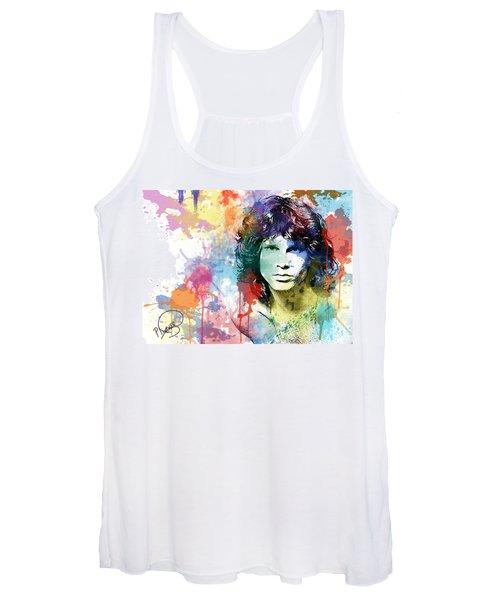 Jim Morrison Women's Tank Top