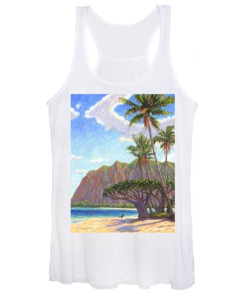 Kaaawa Beach - Oahu Women's Tank Top