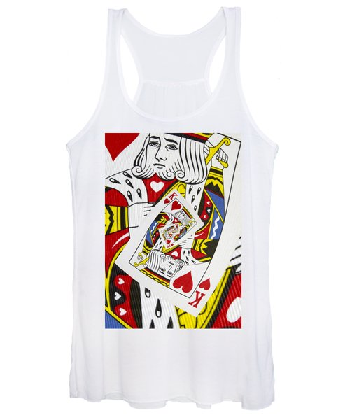 King Of Hearts Collage Women's Tank Top