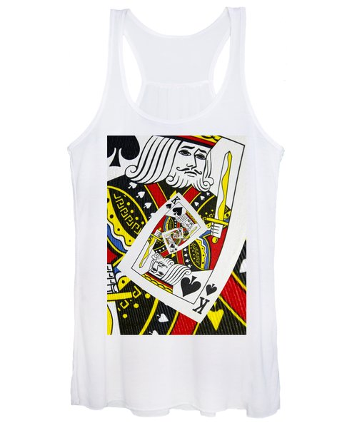 King Of Spades Collage Women's Tank Top