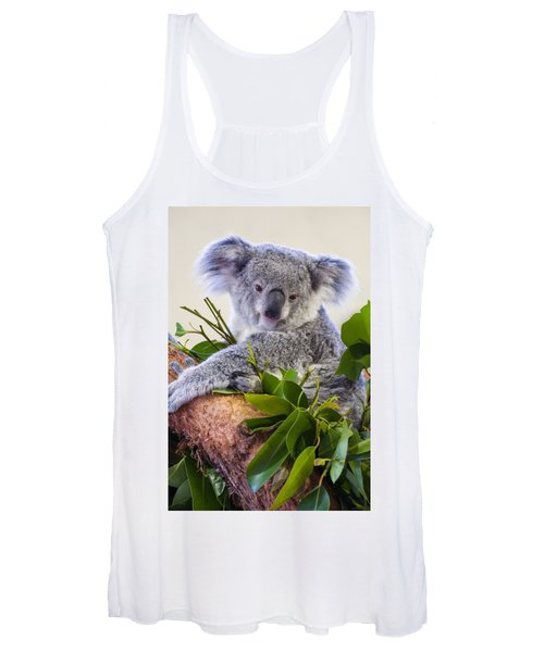 Koala On Top Of A Tree Women's Tank Top