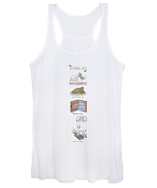 Last-minute Gifts Put A Stop To Sluggish Dialogue Women's Tank Top