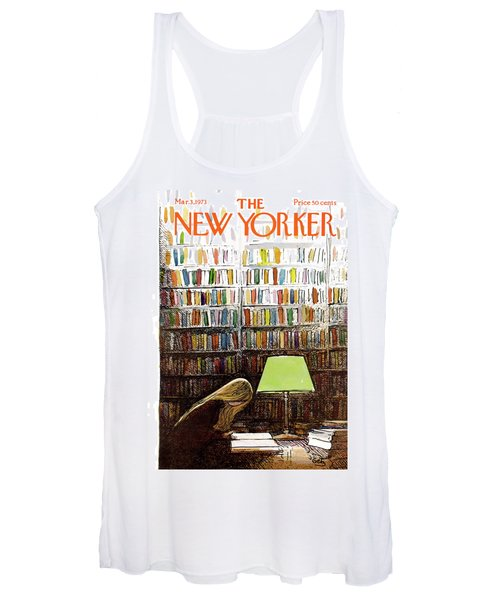 Late Night At The Library Women's Tank Top