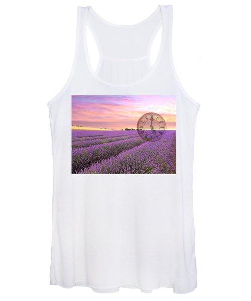 Lavender Time Women's Tank Top