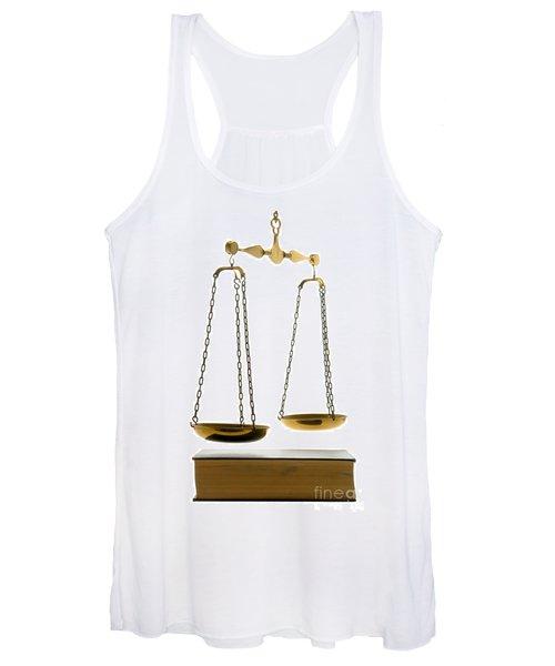 Law Book Women's Tank Top