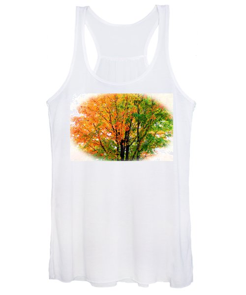 Leaves Changing Colors Women's Tank Top