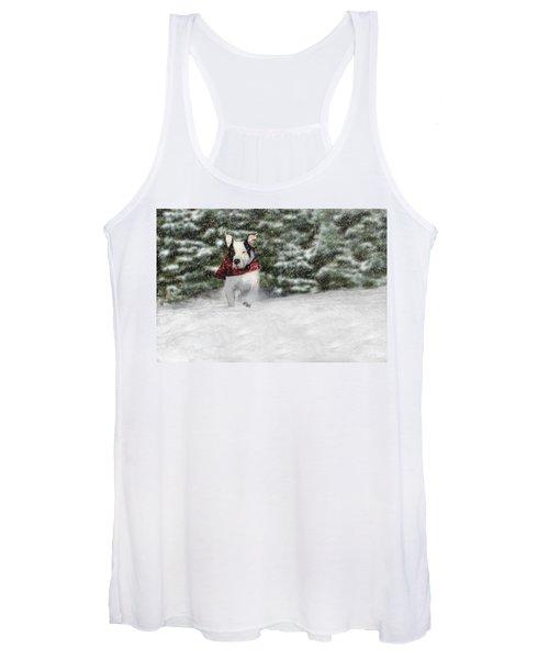 Snow Day Women's Tank Top