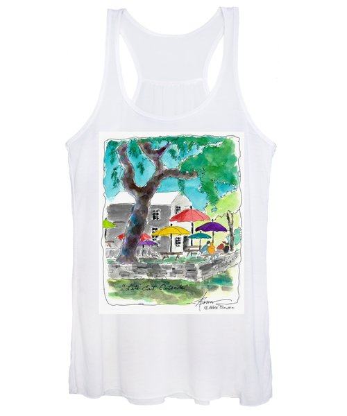 Let's Eat Outside Women's Tank Top