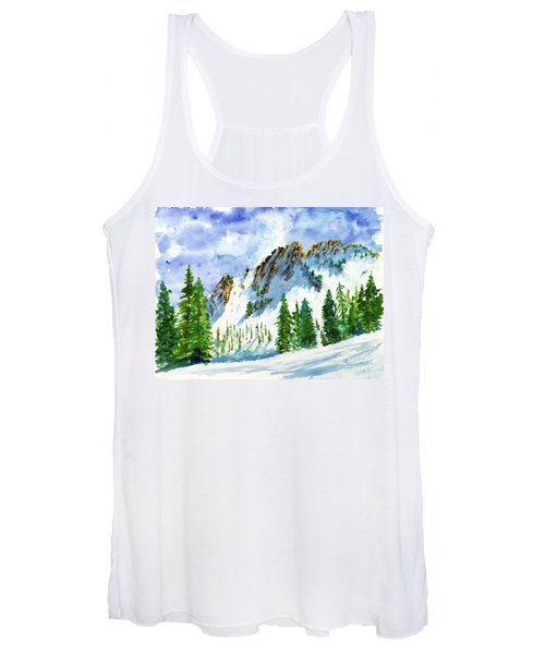 Lone Tree In The Afternoon Women's Tank Top