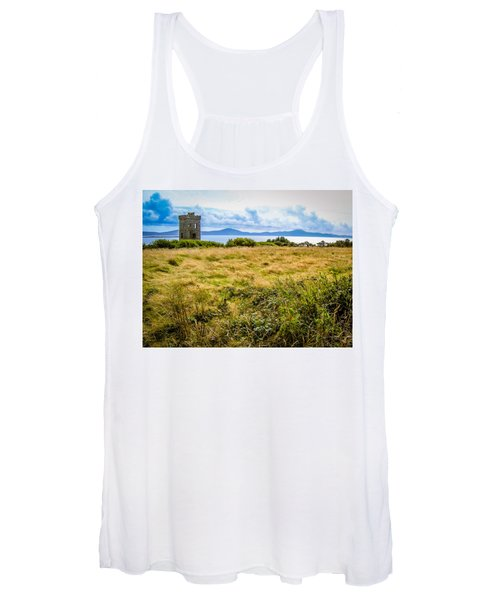 Women's Tank Top featuring the photograph Lord Bandon's Tower In Ireland's County Cork by James Truett