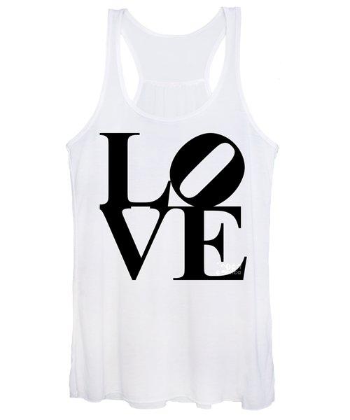 Love 20130707 Black White Women's Tank Top