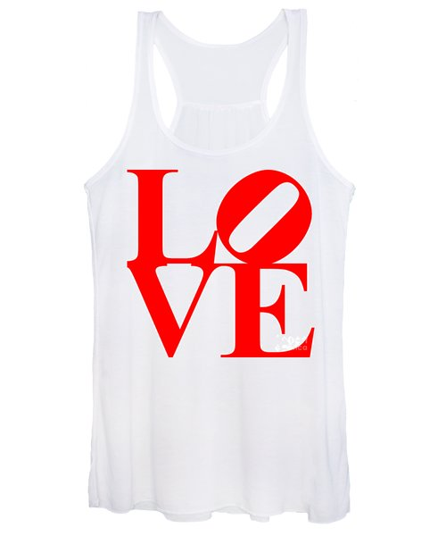 Love 20130707 Red White Women's Tank Top