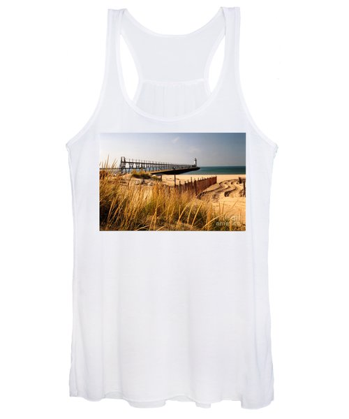 Manistee Lighthouse Women's Tank Top