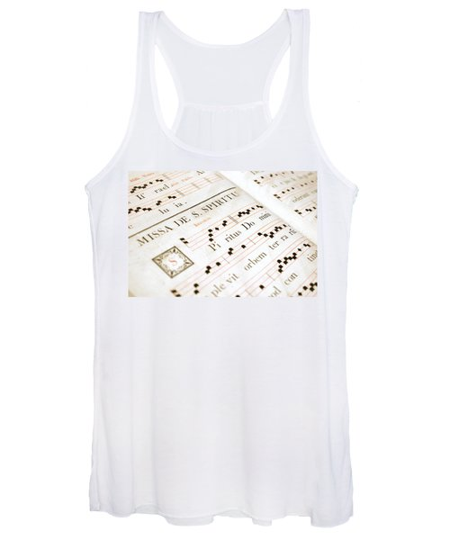Mediavel Chorus Book  Women's Tank Top