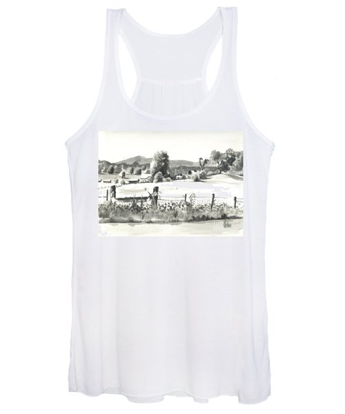 Midsummer View Out Route Jj   No I101 Women's Tank Top