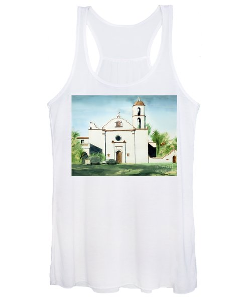 Mission San Luis Rey Colorful II Women's Tank Top