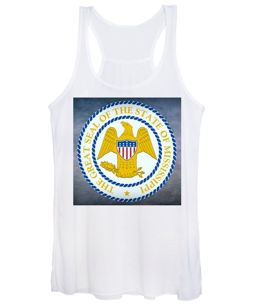 Mississippi State Seal Women's Tank Top