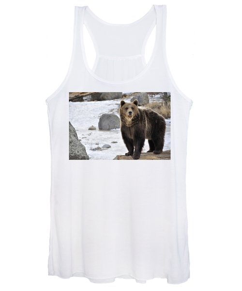Montana Grizzly  Women's Tank Top