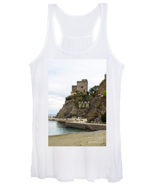 Monterosso Harbor Pier Women's Tank Top