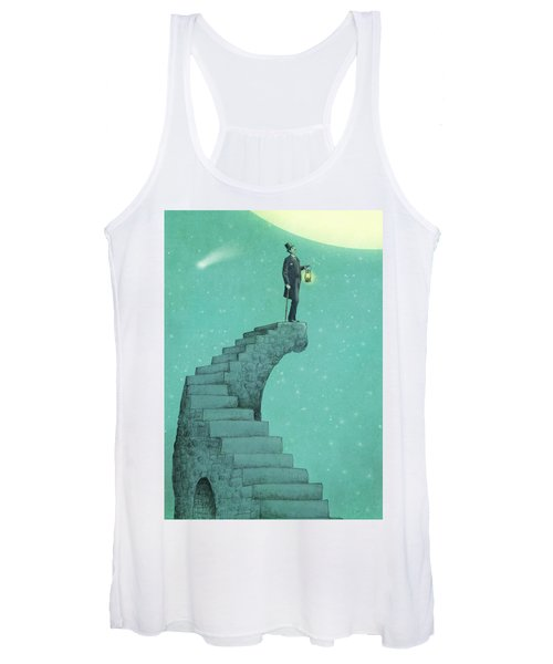 Moon Steps Women's Tank Top