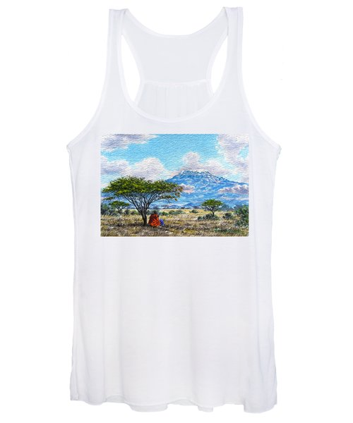 Mount Kilimanjaro Women's Tank Top