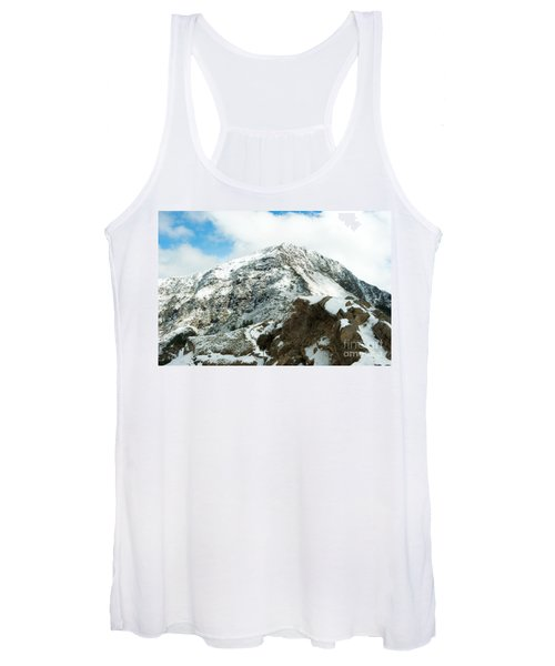 Mountain Covered With Snow Women's Tank Top
