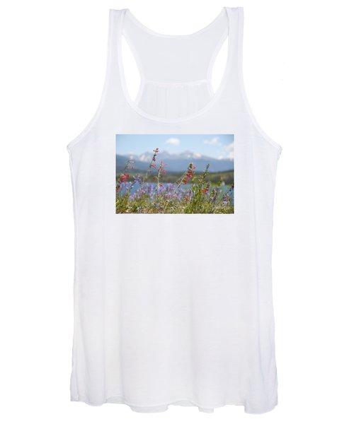 Mountain Wildflowers Women's Tank Top