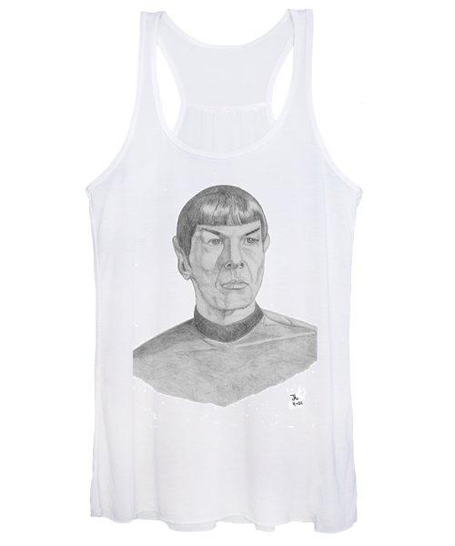 Mr. Spock Women's Tank Top