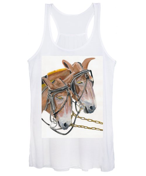 Mules - Two - Beast Of Burden Women's Tank Top